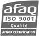 Audemat certified ISO9001