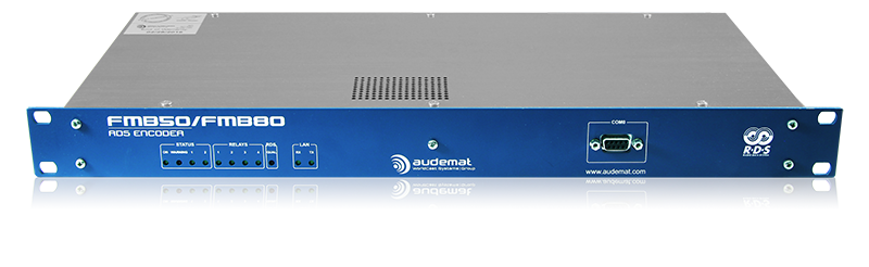 Audemat FMB80 RDS Encoder Front panel