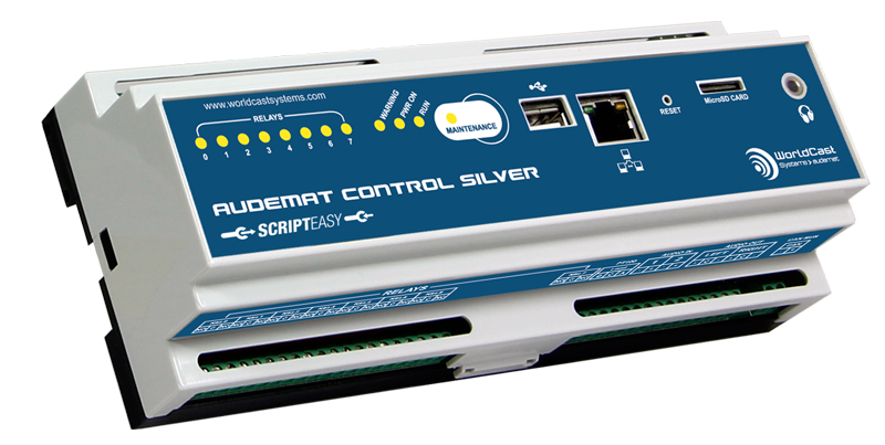 WorldCast Systems Audemat Control Silver